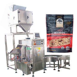 Кофе ұнтағы үшін автоматты түрде толтыру және тығыздау машинасы