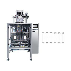 Автоматты Multi Lane Sachet Stick ұнтағын Кофе, Сүт үшін орау машинасы