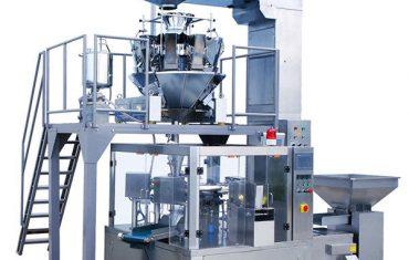 автоматты түрде кофе бұршағы тағамдары айналмалы найзағай қаптамасы орау машинасы