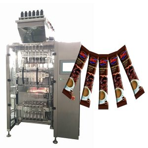 Жоғары жылдамдықты Multi Line Sachet Stick Packing Machine