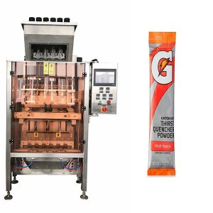 Small Sachets Powde Multi-Line Packaging Machine